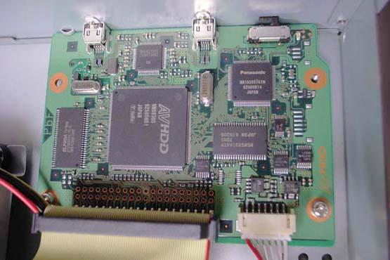 AVHDDの基板ユニット